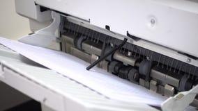 打印文件 影视素材