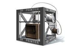 打印木头 免版税库存图片