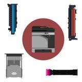 打印机部件 库存图片