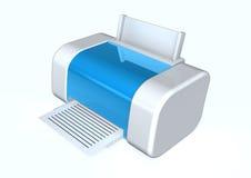 打印机 向量例证
