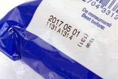 打印的有效期限 免版税库存照片