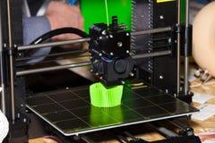 打印3d打印机 免版税图库摄影