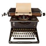 打字机葡萄酒 库存照片