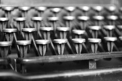 打字机葡萄酒 库存图片