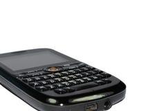 打字机键盘的电话 免版税图库摄影