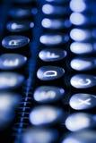 打字机键盘  免版税库存图片
