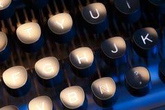打字机键盘  库存图片