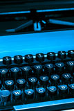 打字机键盘  免版税库存照片