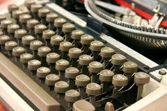 打字机 图库摄影