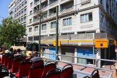 打开公共汽车-雅典,希腊 图库摄影