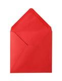 打开红色信封。 库存图片