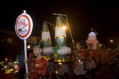 打开旅游业工作机会的印度尼西亚 免版税库存照片