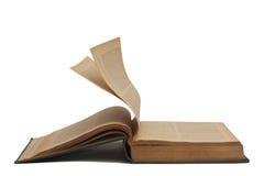 打开旧书2 免版税库存图片