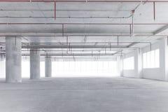 打开空的办公室空间 免版税库存图片