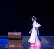 """打开箱子--江西linchuan† opera""""four梦想  免版税库存图片"""
