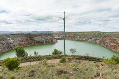 打开裁减金矿, Ravenswood,昆士兰,澳大利亚 免版税库存照片