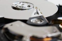 打开计算机的硬盘 免版税库存图片