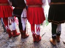 打扮中世纪 免版税库存照片