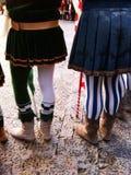 打扮中世纪 免版税库存图片