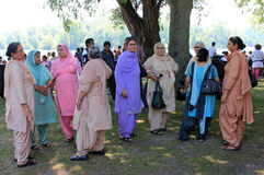 打扮印第安国家妇女 免版税库存照片