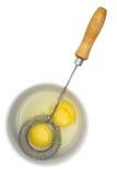 打的鸡蛋 图库摄影