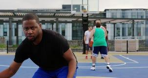 打篮球4k的篮球运动员 股票录像