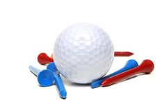 打高尔夫球的东西 免版税图库摄影