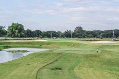 打高尔夫球的菲律宾 库存照片