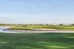 打高尔夫球的菲律宾 库存图片