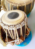 打鼓种族印第安tabla 免版税图库摄影
