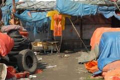 打破在孟加拉国的船 免版税图库摄影