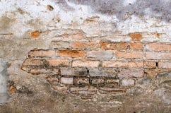 打破的砖 免版税库存照片