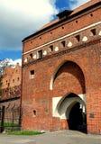 托伦,波兰:船员的门户 库存图片