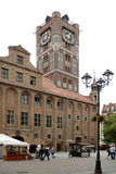 托伦-波兰的市政厅 免版税图库摄影
