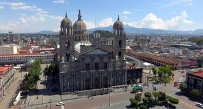 托卢卡墨西哥大教堂 免版税库存图片