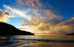 托尔托拉岛BVI酿酒者海湾  库存图片