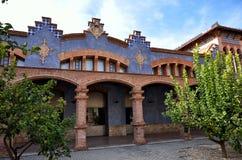 托尔托萨角,中世纪镇在卡塔龙尼亚,西班牙 库存图片