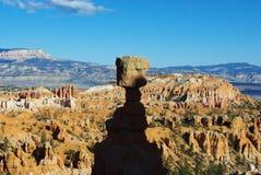 托尔的锤子, Bryce峡谷,犹他 图库摄影