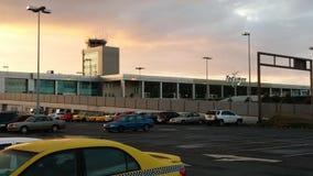 托库曼国际机场 免版税库存照片