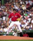 托德琼斯,波士顿红袜投手 免版税库存照片