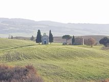 托斯卡纳教会 库存图片