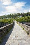 托斯卡纳,马德林桥梁,亦称,恶魔 库存图片