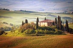 托斯卡纳-意大利 免版税库存照片