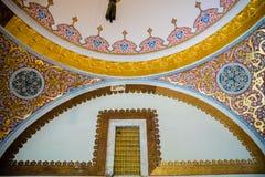 托普卡珀宫看法在伊斯坦布尔,土耳其 免版税库存图片