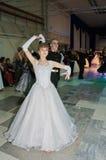 托木斯克 俄罗斯- 2016年1月23日:现代舞 免版税库存图片
