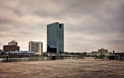 托莱多俄亥俄市地平线 库存照片