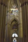 托莱多大教堂的内部 库存照片