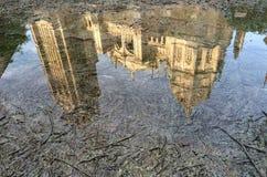 水托莱多大教堂 免版税库存照片