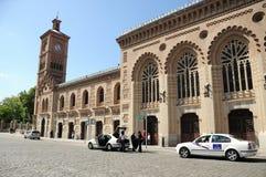托莱多火车站,西班牙 库存图片