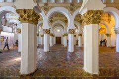 托莱多犹太教堂 免版税库存照片